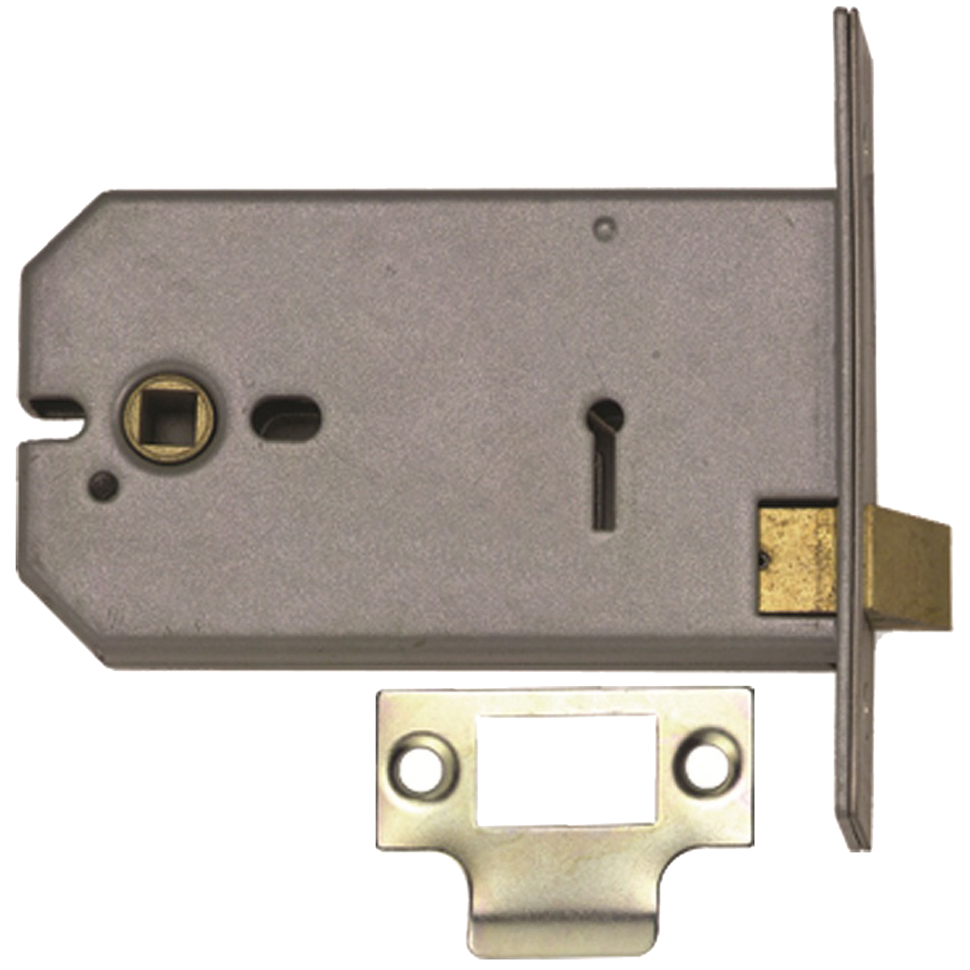 Union 2677  5  HORIZONTAL MORTICE LATCH BRASS