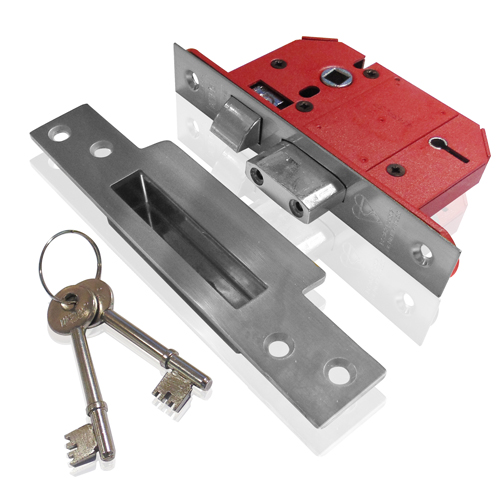 Union 5 Lever Mortice Sashlock 2.1/2  SC