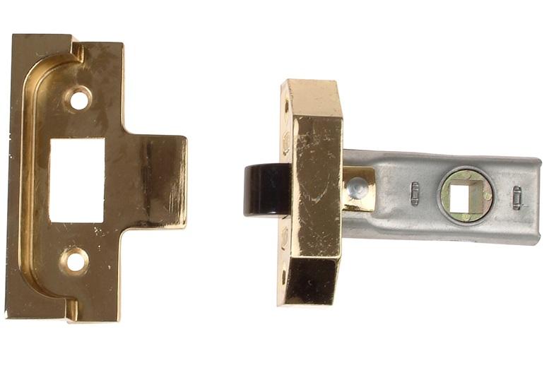 Union J2650 Rebated Tubular Latch 2.5'' EB