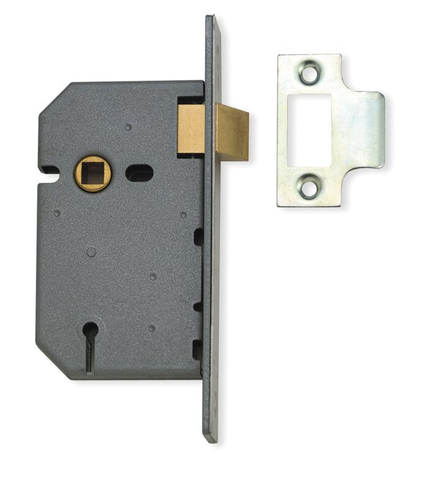 Union J2657 4'' Flat Latch silver