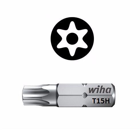 Wiha Standard Bit Pin Torx T15 x 25mm  01728