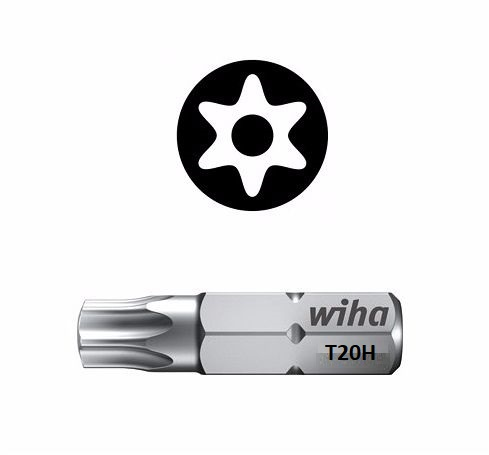 Wiha Standard Bit Pin Torx TX20 x 25mm 01729