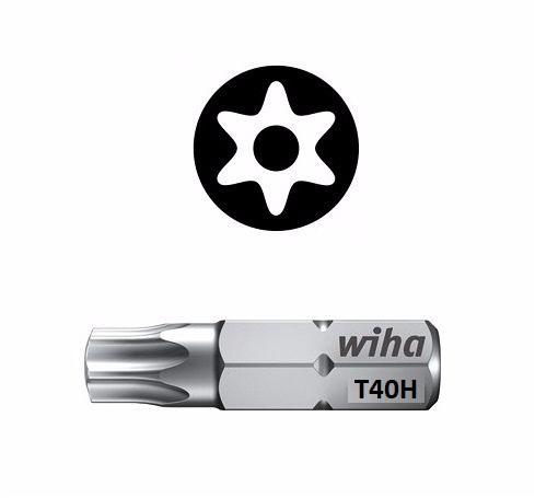 Wiha Standard Bit Pin Torx TX40 x 25mm 01733
