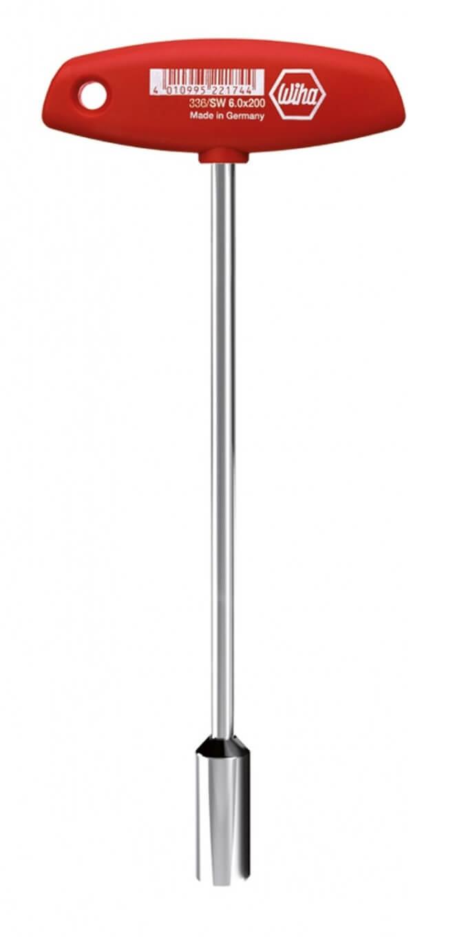 Wiha Nut Driver T-Bar Handle 6mm 00967