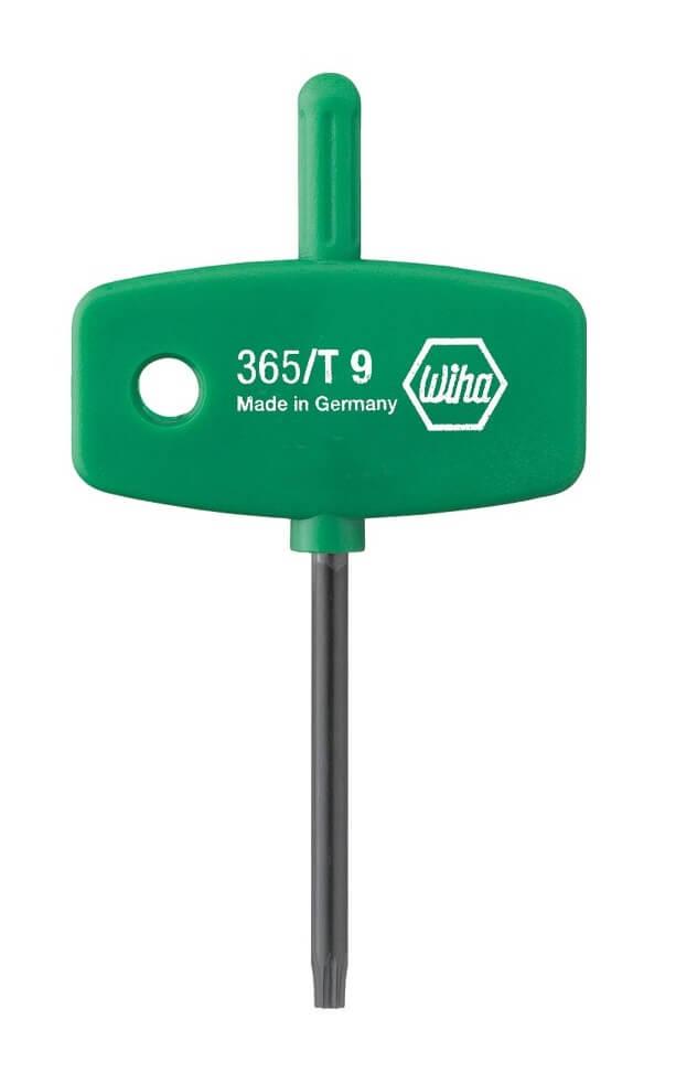 Wiha 6-Lobe (Torx) L-Key Handle T8 01352
