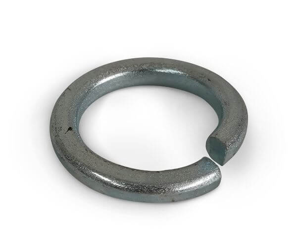M12 Square Section Spring Washers BZP