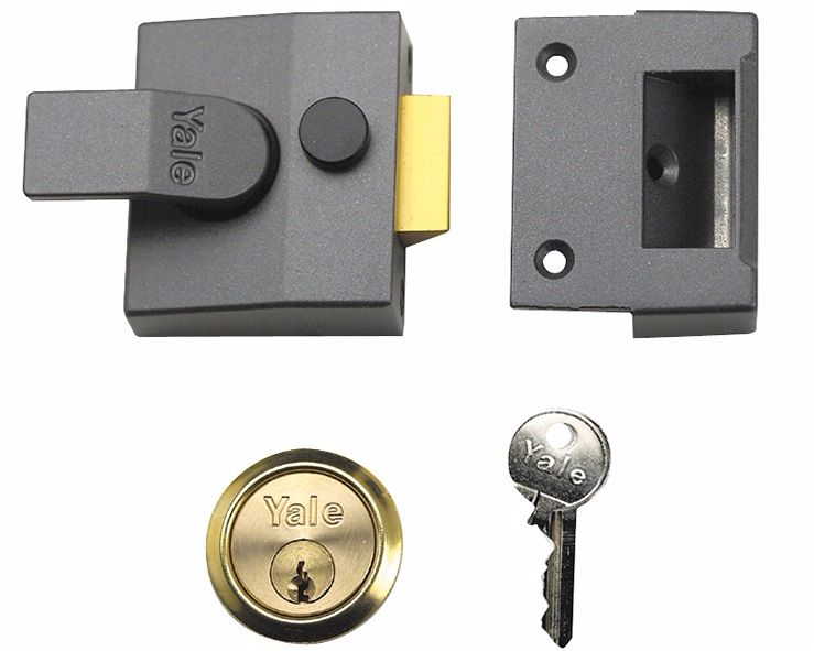Yale 85 D/Locking Nightlatch DMG PB 40mm