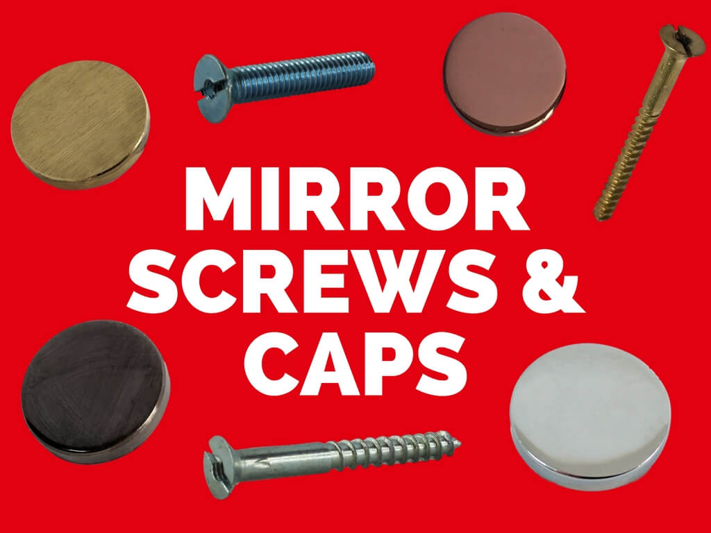 Mirror Screws & Caps