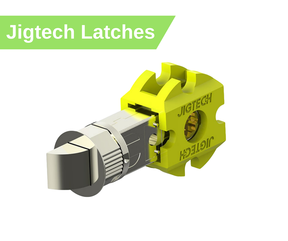jigtech latches including smart latches