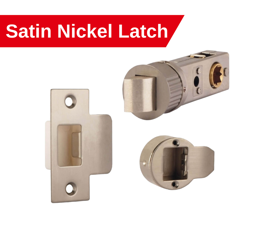 satin nickel smart latch